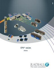 1 EPX® series - Radiall