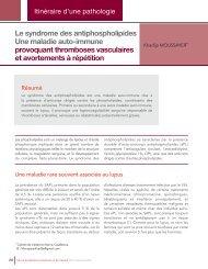 Le Syndrome des antiphospholipides, une maladie méconnue au Maroc