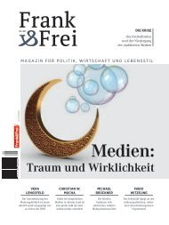Leseprobe Magazin Frank&Frei 08/2019