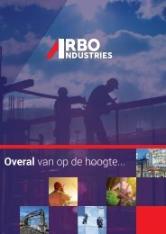 Brochure Arbo Industries 2019