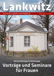 Lankwitz Journal Feb/Mrz 2019