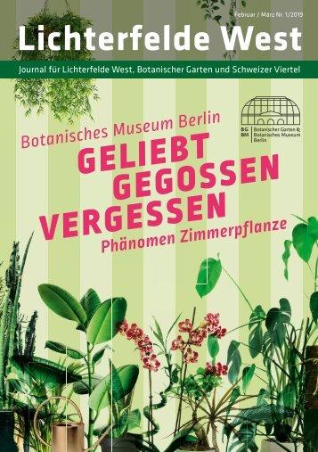 Lichterfelde West Journal Feb/Mrz 2019