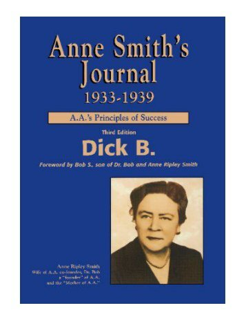 Anne Smith's Journal, 1933-1939 A.A.'s Principles of Success