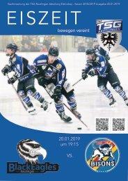 TSG Black Eagles vs. Bisons Pforzheim 20012019 online