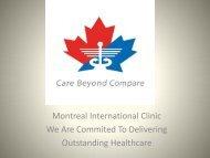 Hair Transplantation Dubai - Montreal International Clinic
