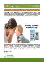 Buy Human Chorionic Gonadotropin Drugs Online-Safemeds4all