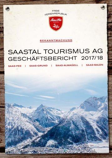 Geschäftsbericht 2017/2018