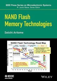 NAND Flash Memory Technologies (IEEE Press Series on Microelectronic Systems) (Seiichi Aritome)