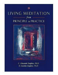 Living Meditation From Principle to Practice