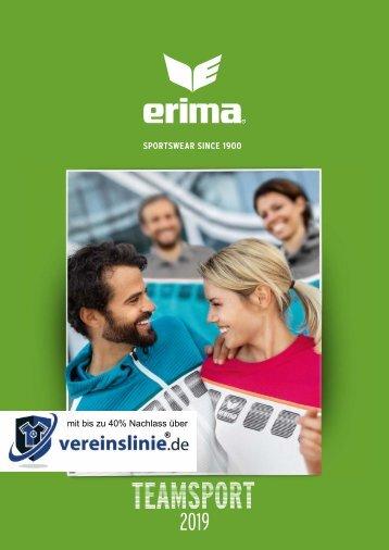Erima Teamsport-Katalog 2019