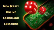 New Jersey Online Casino and Locations