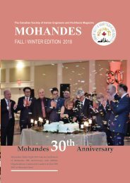 Mohandes Magazine Fall-Winter Edition 2018