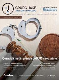 Revista JASF Contabilidade - Dezembro de 2018 e Janeiro de 2019