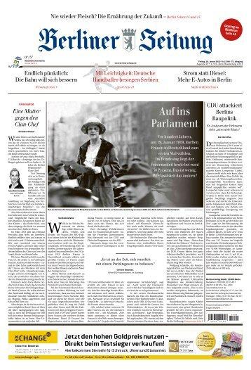 Berliner Zeitung 18.01.2019