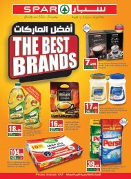 SPAR flyer from 16 to 22Jan 2019