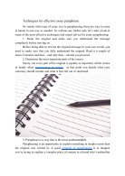 Essay Paraphrase - Technics and Expert Advice - Page 3