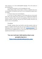 Essay Paraphrase - Technics and Expert Advice - Page 4