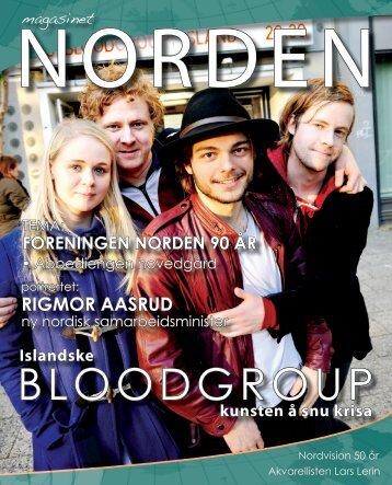 BLOODGROUP - Forsiden - Foreningen Norden