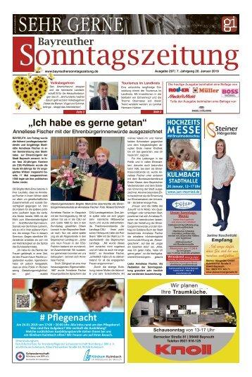 2018-01-20 Bayreuther Sonntagszeitung