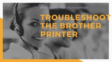 Troubleshoot the Brother Printer