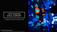 Live Support for Time Warner Email Support