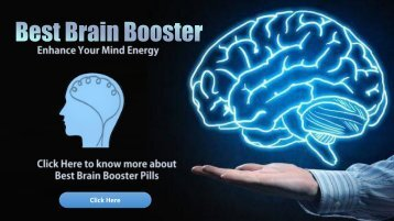 What Is The Best Brain Booster