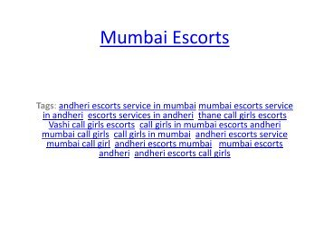 Men Seeking for Call Girls Models in Mumbai