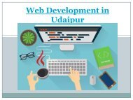 Web Development in Udaipur