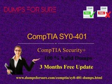 CompTIA SY0-401 Dumps