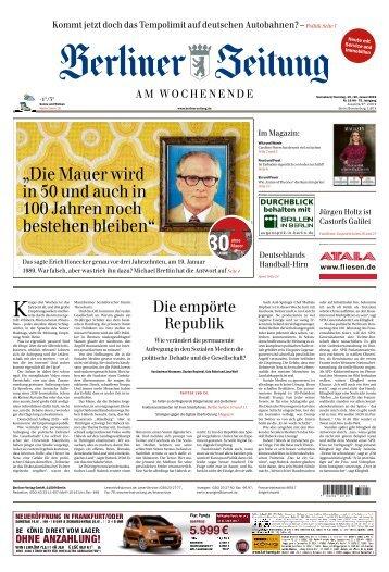 Berliner Zeitung 19.01.2019