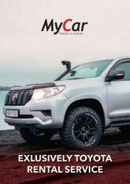 MyCar – Exclusively Toyota Rental Service