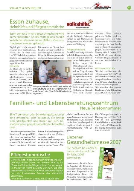 Thekenaufsteller | Kalender Bücher | Plakate | Flyer ... - Stadt Liezen