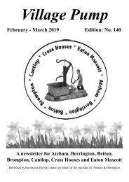 Berrington Village Pump Edition 140 Feb - Mar 2019