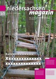 niedersachsen magazin-JanuarFebruar 2019