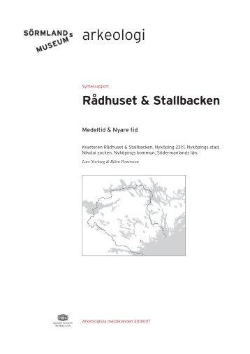 RÄdhuset & Stallbacken - Sörmlands museum
