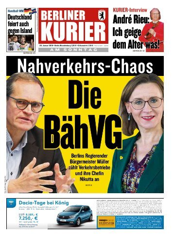 Berliner Kurier 20.01.2019