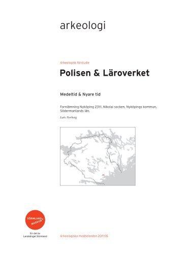 Polisen & Läroverket - Sörmlands museum