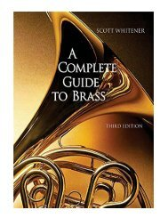 A Complete Guide to Brass Instruments And Technique