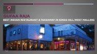 Gufaa Raja - Indian Restaurant & Takeaway in Kings Hill, West Malling