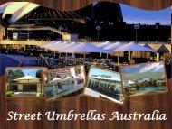 Get Retractable Umbrella at Street Umbrellas Australia