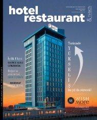 Hotel restaurant & hi-tech Ocak - January 2019