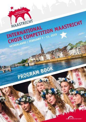 Maastricht 2019 - Program Book