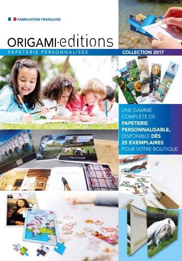 CATALOGUE ORIGAMI Éditions 2017-2018