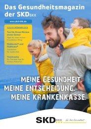 SKD BKK Kundenmagazin Frühjahr 2019