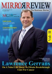 The 10 Transformational Leaders Of Healthcare Industry Vol 2