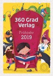 360 Grad Verlagsvorschau 2019 - Alle Novitäten und die komplette Backlist auf einen Blick!