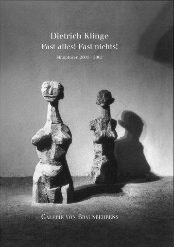 Dietrich Klinge - Fast Alles! Fast Nichts!