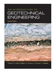 An Introduction to Geotechnical Engineering United States Edition