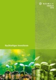 B.A.U.M.-Jahrbuch 2018: Nachhaltiges Investieren