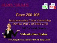 Cisco 200-105 Dumps